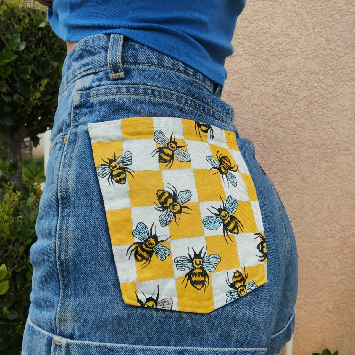 13 Painted Jean Pockets Guide Patterns