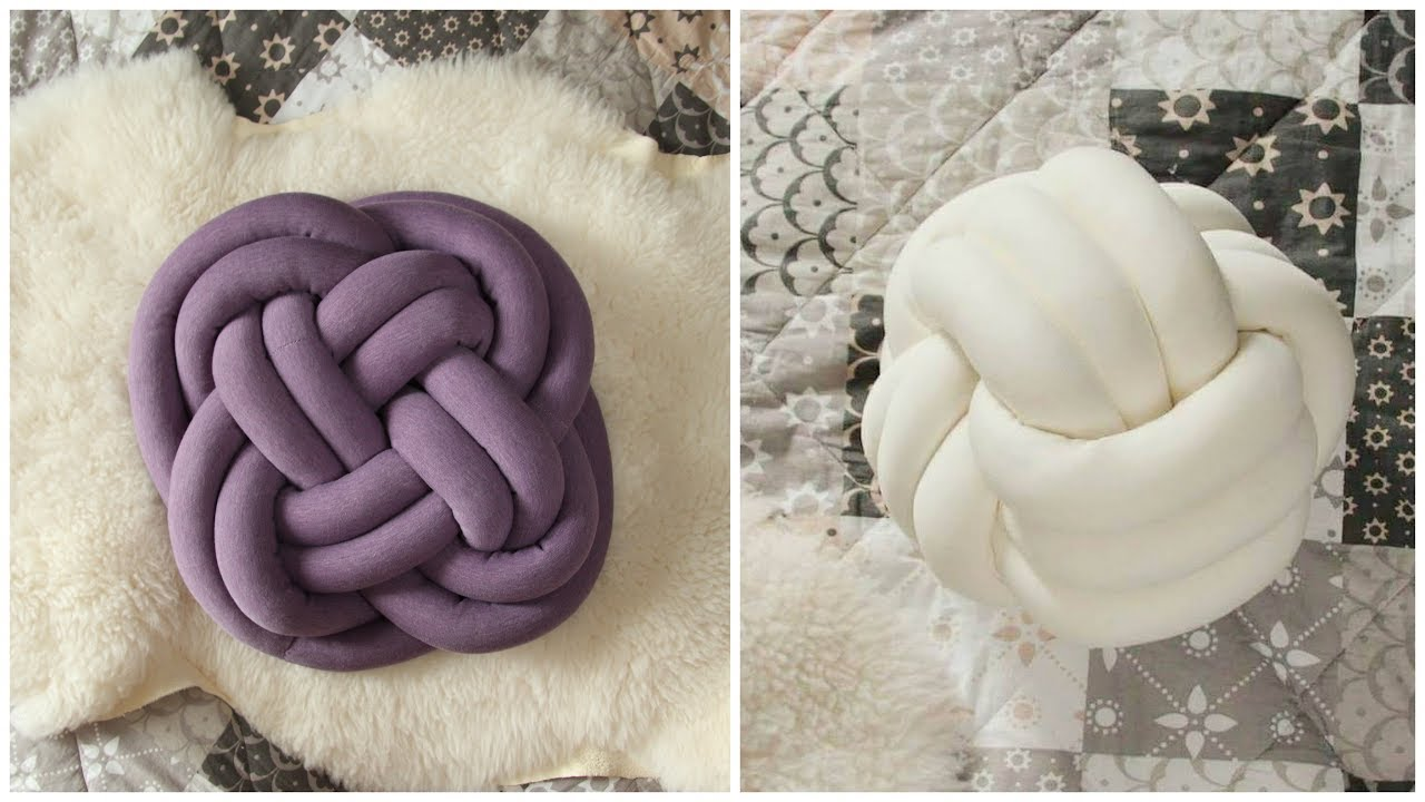 13 Interesting Ways To Make A Knot Pillow Guide Patterns