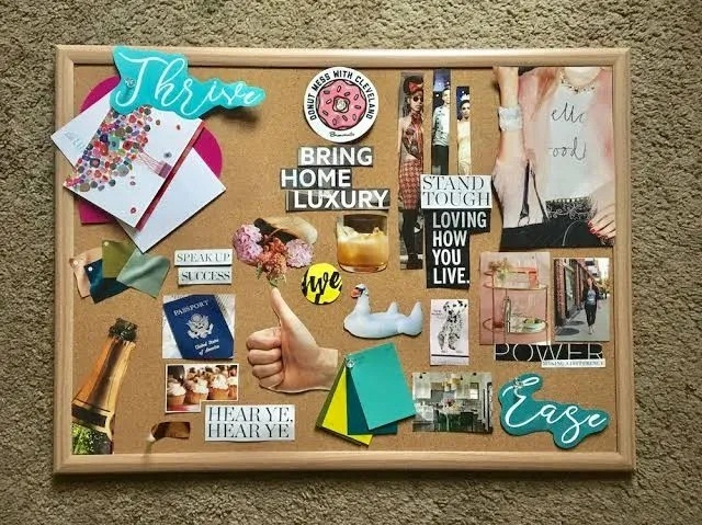 18 Creative Diy Ideas To Make A Vision Board Guide Patterns
