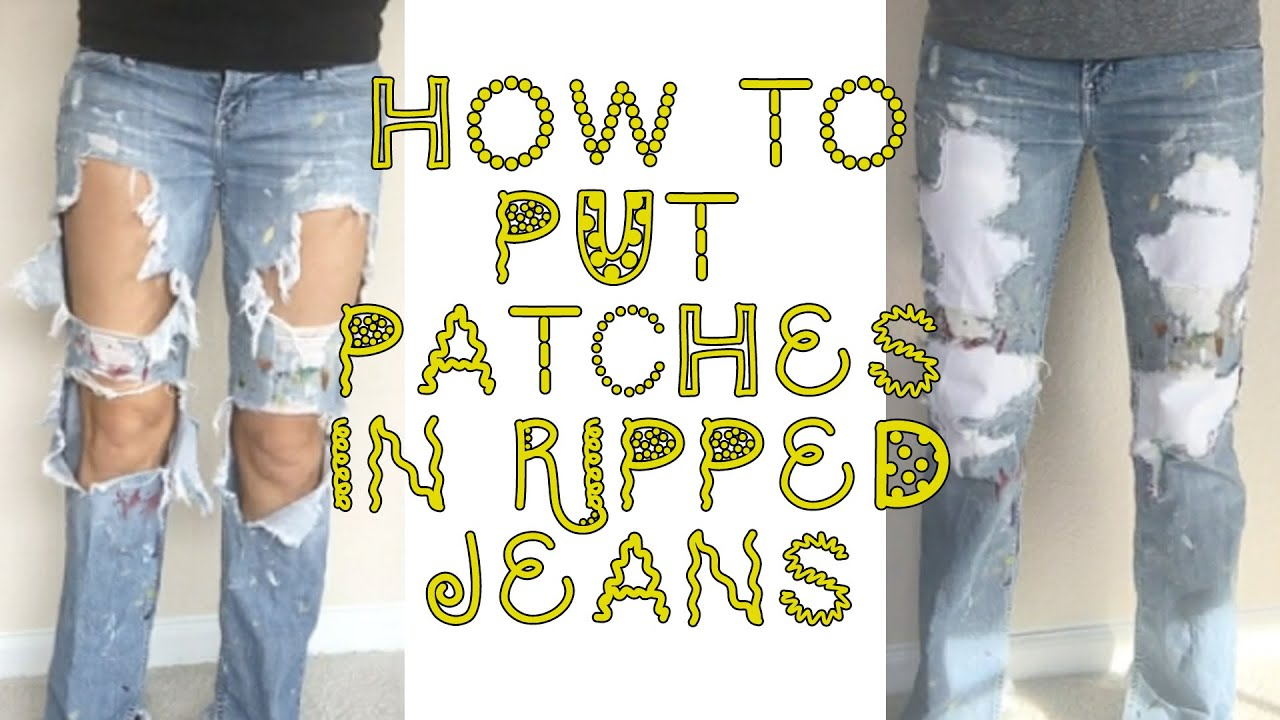 21 Diys To Make Ripped Jeans For Men And Women Guide Patterns