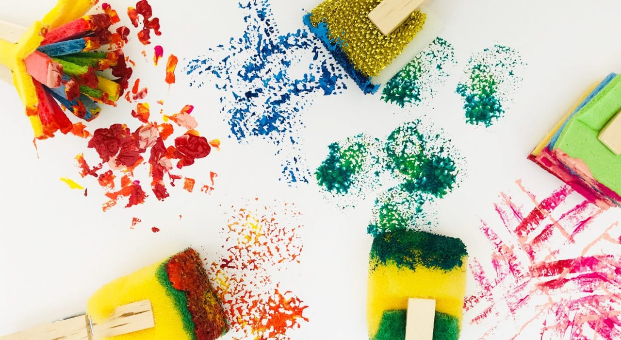 24 Creative Diy Sponge Painting Ideas For Kids And Adults Guide Patterns